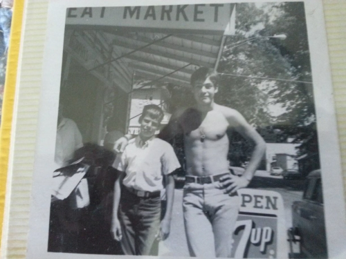 My dad, before he was my dad, with his younger brother (left).